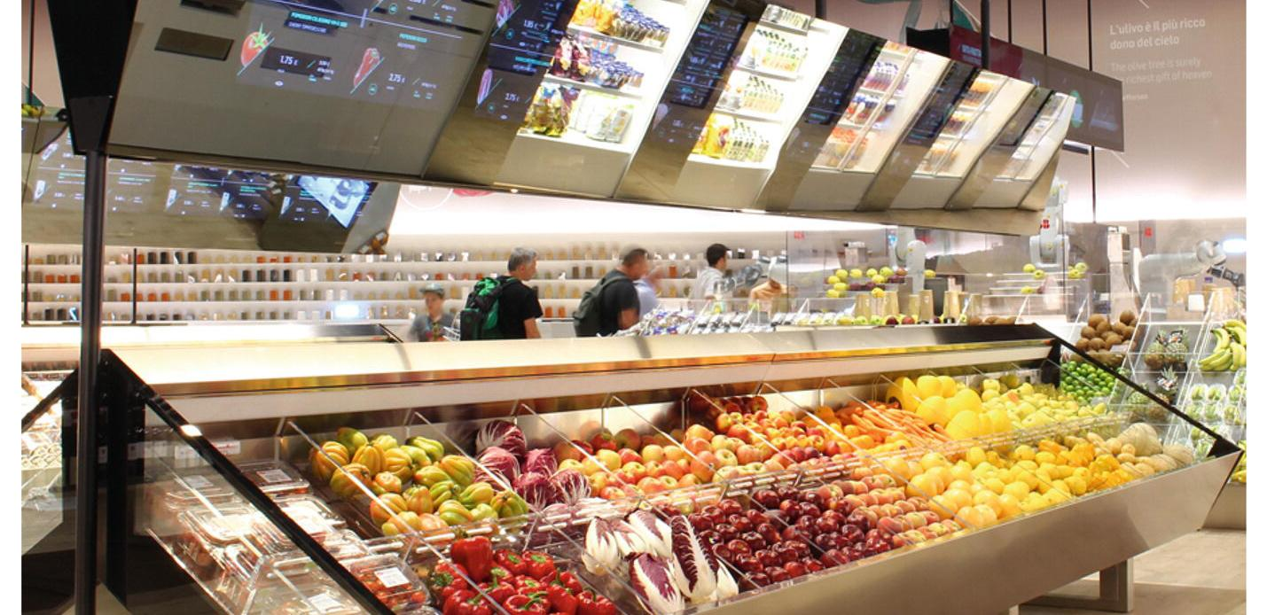 7Fresh supermarkets 'Magic Mirrors' product information