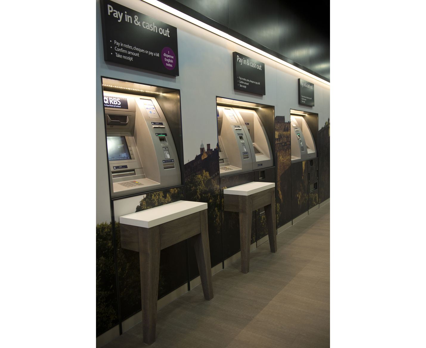 Royal Bank of Scotland smart ATM's
