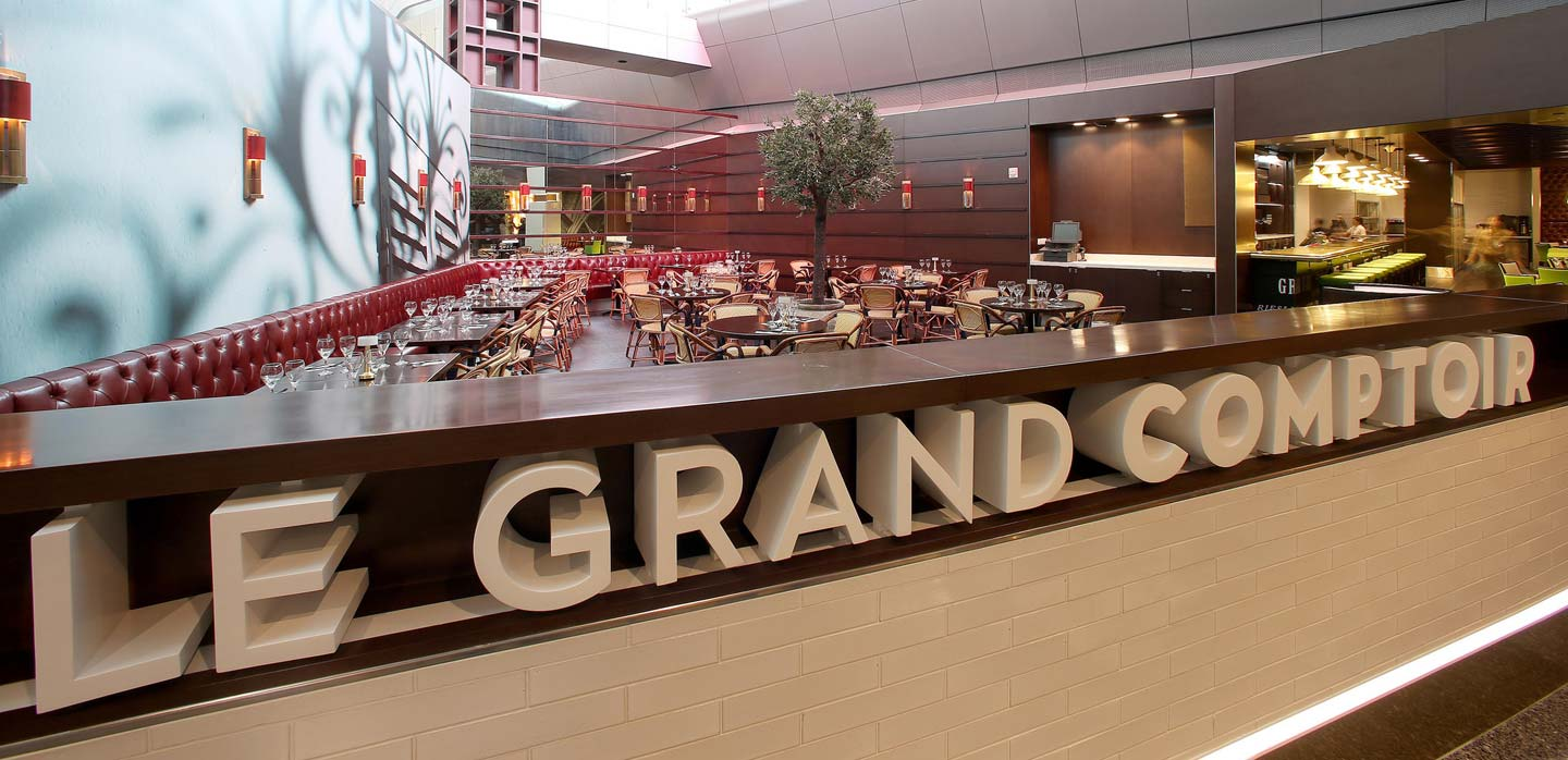 Innovative food and beverage restaurant at Hamad International Airport Qatar