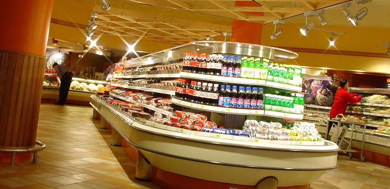 Safeway convenience store chilled foods department merchandising design