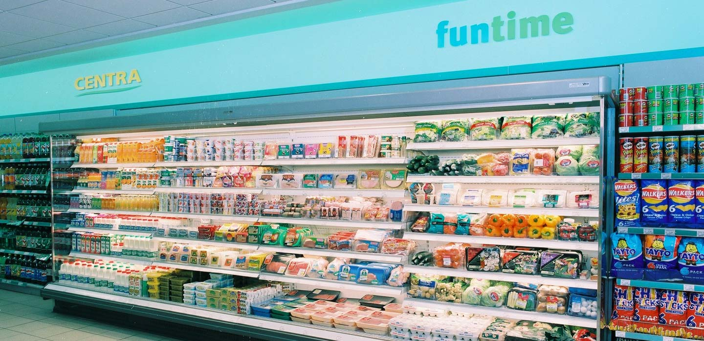Centra convenience store chilled foods department design