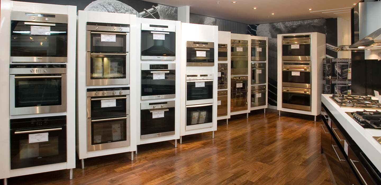 Harrods Knightsbridge second floor home appliances department designed by CampbellRigg