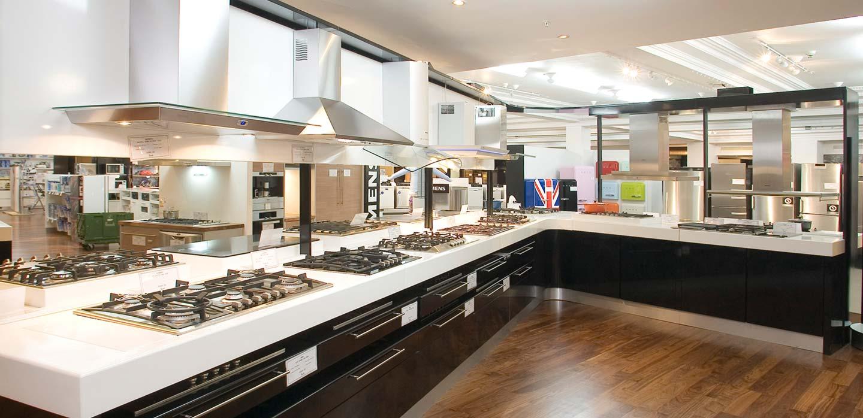 Harrods Knightsbridge second floor hom ppliances department designed by CampbellRigg