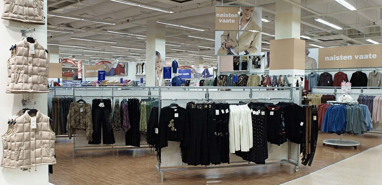 Kesko Hypermarket fashion Helsinki,  Finland