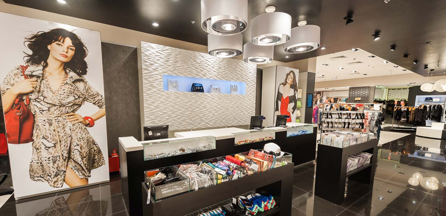 Snow Queen store design Moscow