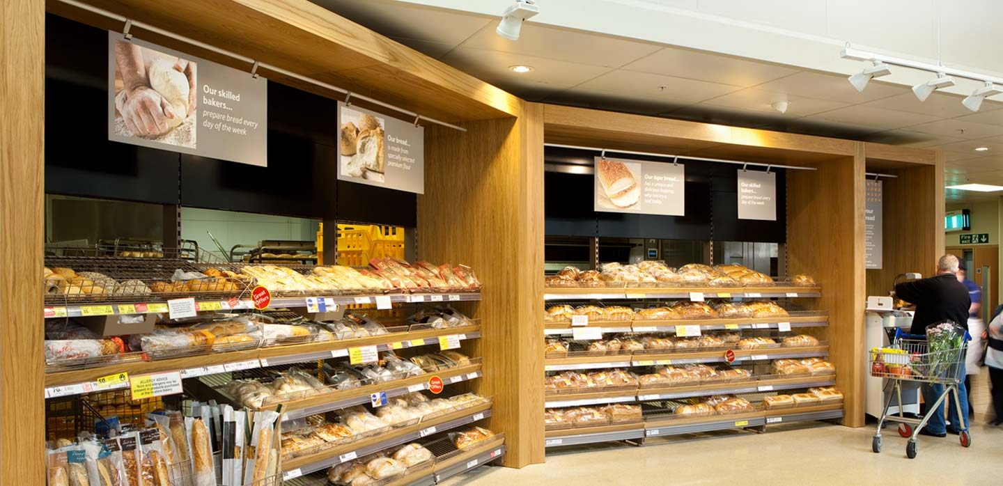 Tesco bakery department, merchandising system and POS communications