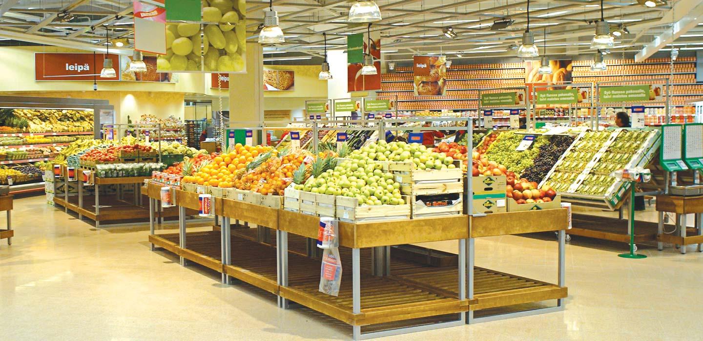 Kesko K-Citymarket Fruit and Vegetable department Helsinki, Finland