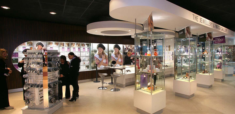 Argos Jewellery visual merchandising display designed by CampbellRigg
