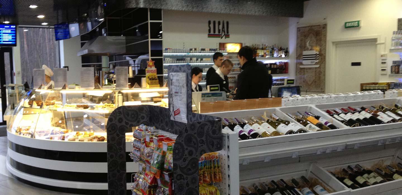 Socar instore retail concept Kiev, Ukraine