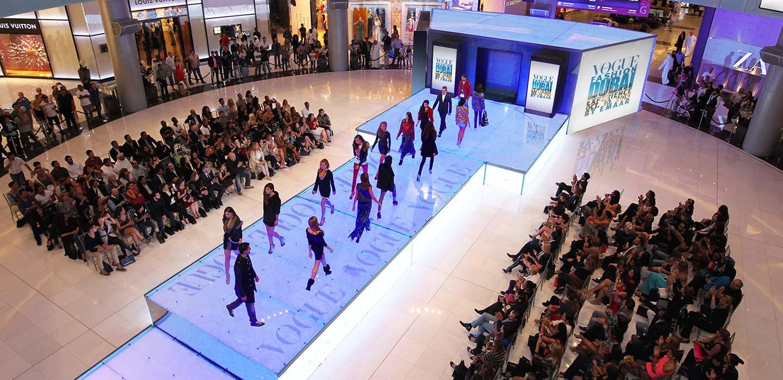 Vogue fashion show Dubia Mall, UAE