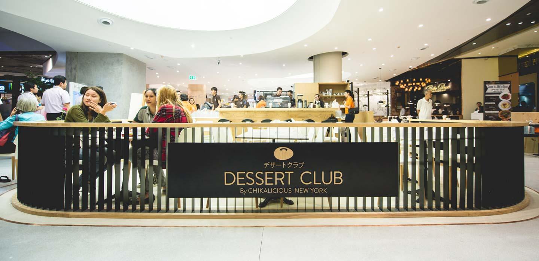 Dessert Club EmQuartier Food Hall Bangkok