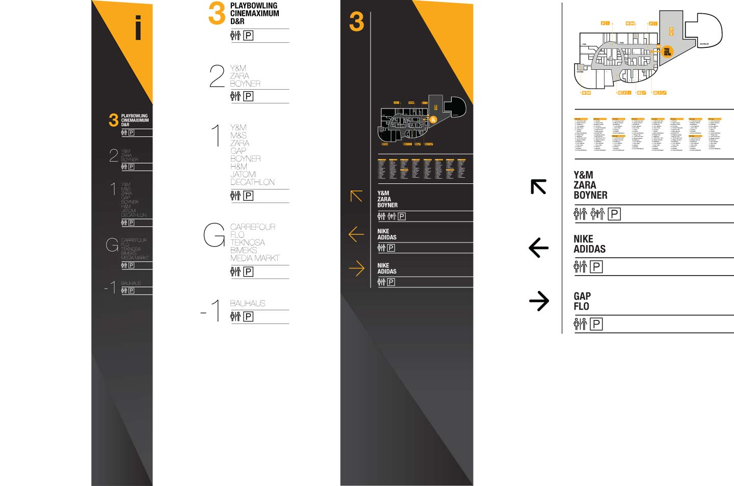 Marmara Forum icon design for the navigation system Istanbul, Turkey designed by CampbellRigg