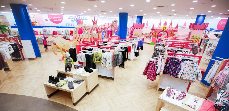 Detskiy Mir store design Moscow